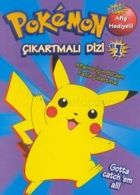 Pokémon Çıkartmalı Dizi 1