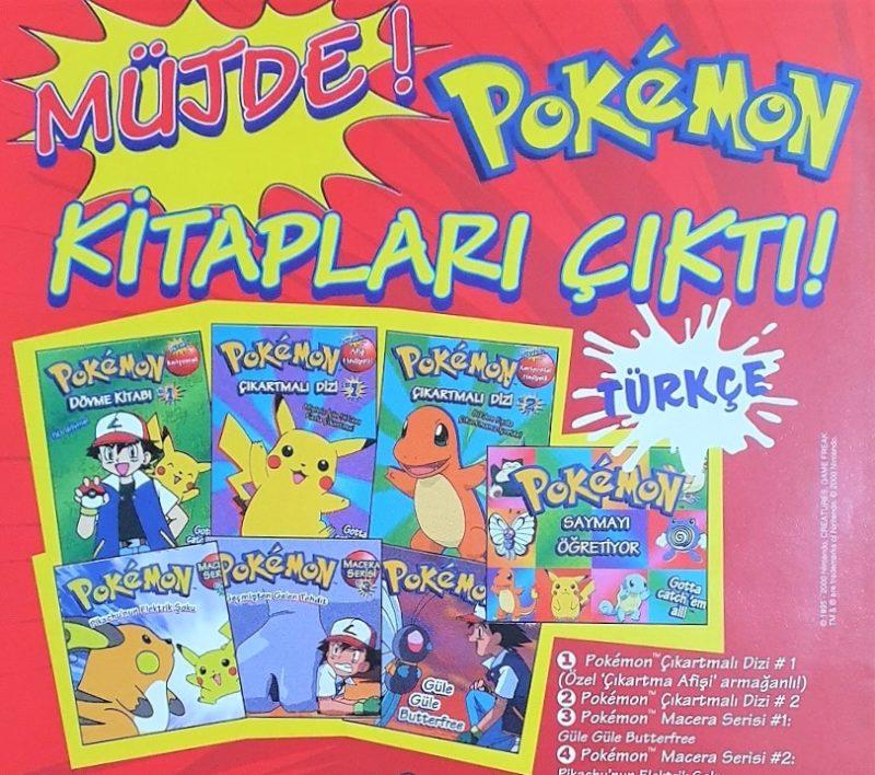 Pokémon Kitapları Çıktı