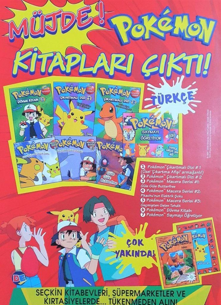 Pokémon Kitapları Broşürü