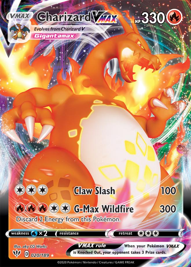 Charizard VMAX Darkness Ablaze