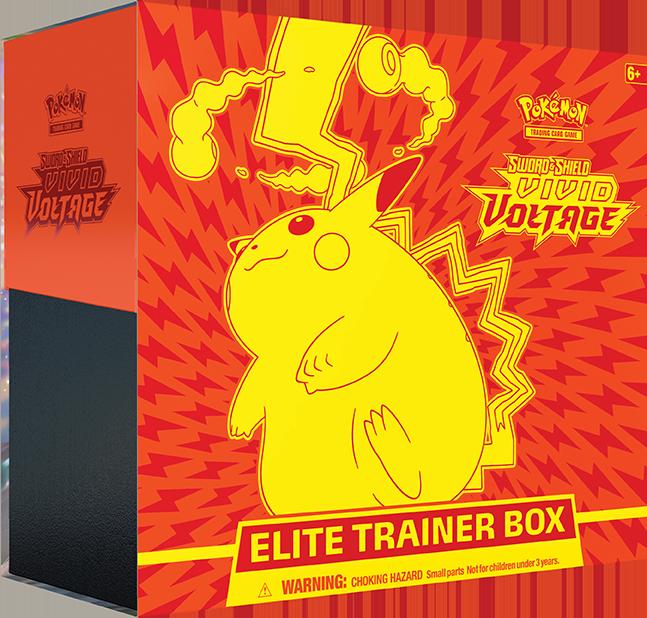 Vivid Voltage Elite Trainer Box  - Gigantamax Pikachu
