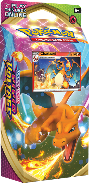 Vivid Voltage Theme Deck - Charizard