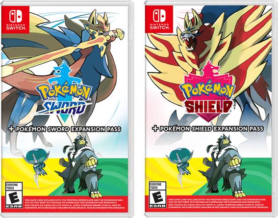 Pokémon Sword ve Shield Expansion Pass Kutusu
