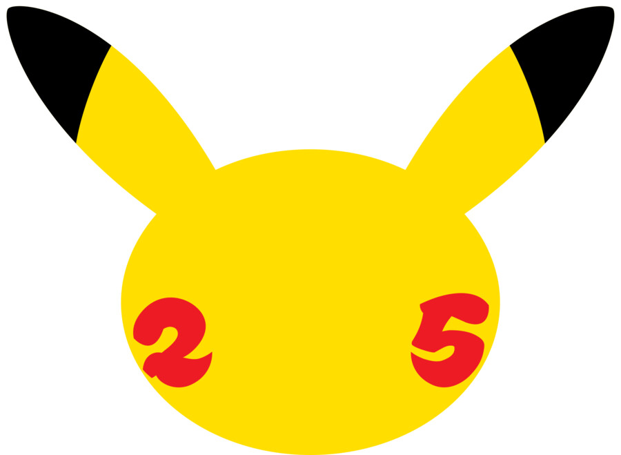 Pokémon 25 Logo