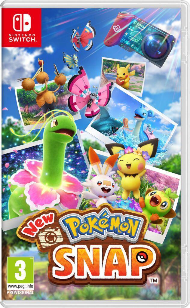 New Pokémon Snap Kutusu